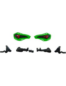 Rtech HP1 HANDGUARDS-DOUBLE MOUNTING KIT GREEN