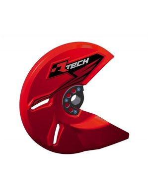Rtech UNIVERSAL BRAKE DISC PROTECTOR RED
