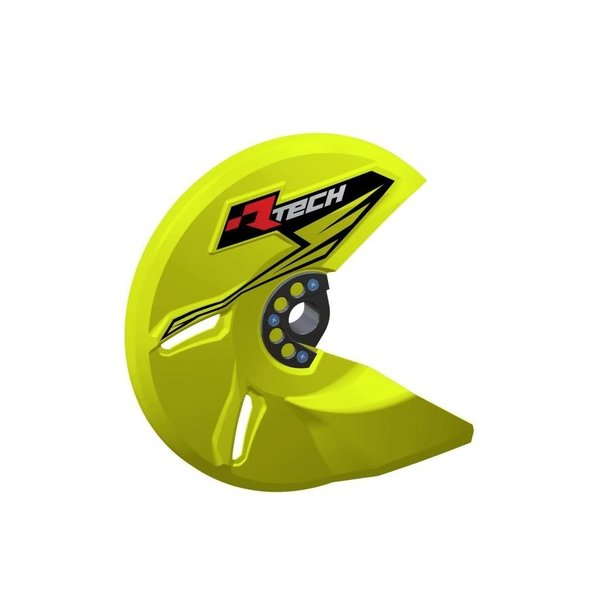 Rtech UNIVERSAL BRAKE DISC PROTECTOR NEON YELLOW
