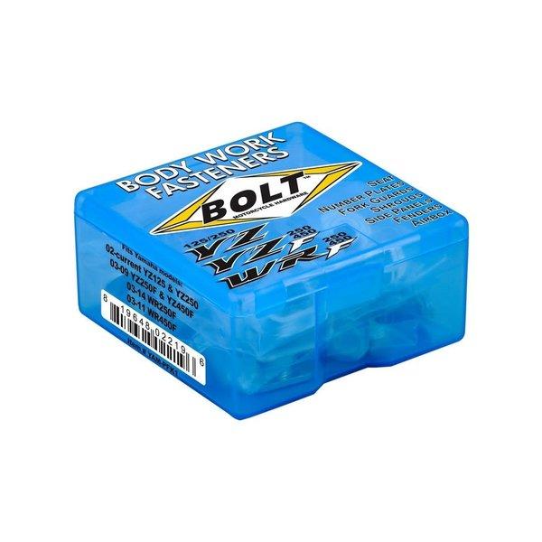 Bolt Plastics Fastening Kit Stainless Steel Yamaha YZ/WR