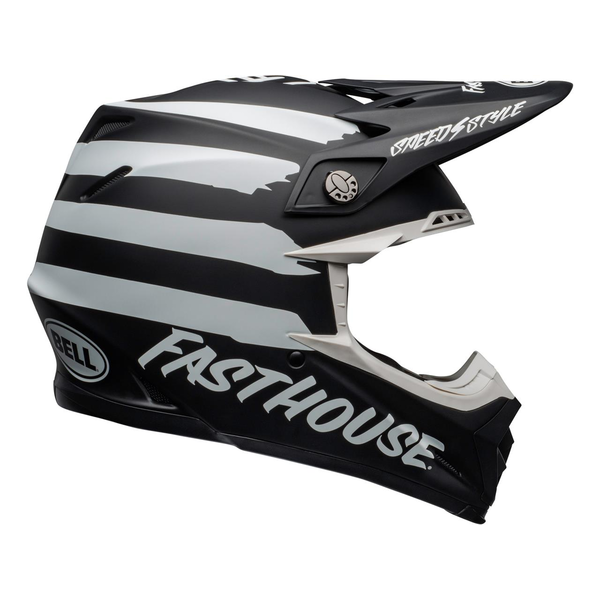 Bell BELL Moto-9 Mips Helm Fasthouse Signia Matte Zwart/Chrome