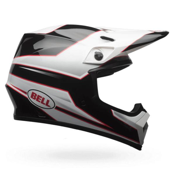 Bell BELL MX-9 Mips Helmet Stryker Mips Black/White Size L