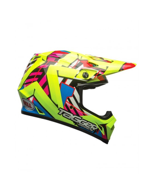 Bell BELL MX-9 Mips Helmet Tagger Gloss Double Trouble Yellow Size S
