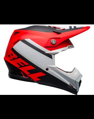 Bell BELL Moto-9 Mips Helm Prophecy Matte Wit/Rood /Zwart