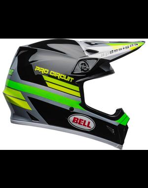 Bell BELL MX-9 Mips Helm Pro Circuit 2020 Zwart/Groen