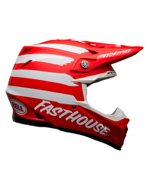 Bell BELL Moto-9 Mips Helm Signia Matte Red/White