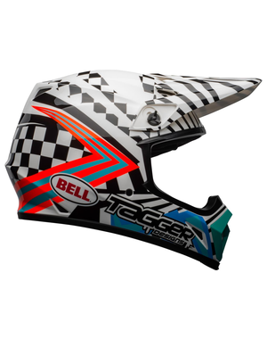 Bell BELL MX-9 Mips Helm Check Me Out Gloss Black/White