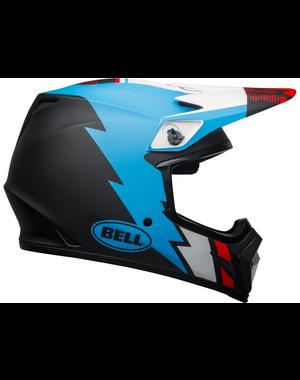 Bell BELL MX-9 Mips Helm Strike Matte Black/Blue/White