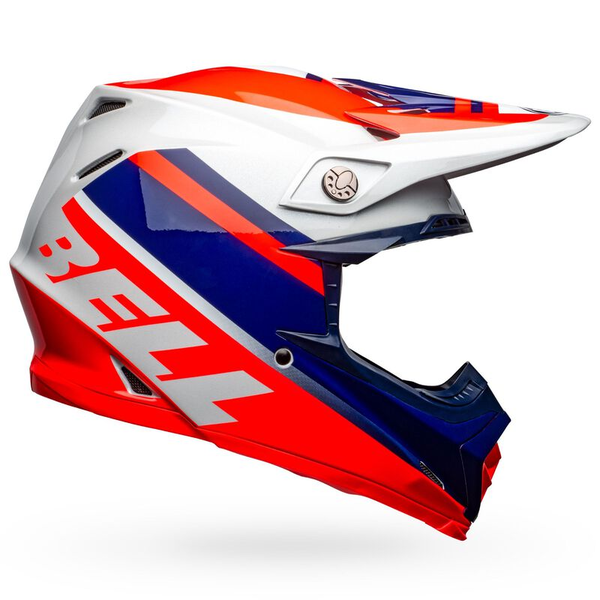 Bell BELL Moto-9 Mips Helm Prophecy Gloss Infrared/Navy/Gray
