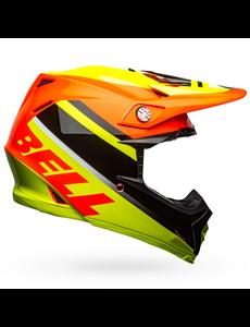 Bell BELL Moto-9 Mips Helm Prophecy Gloss Yellow/Orange/Black