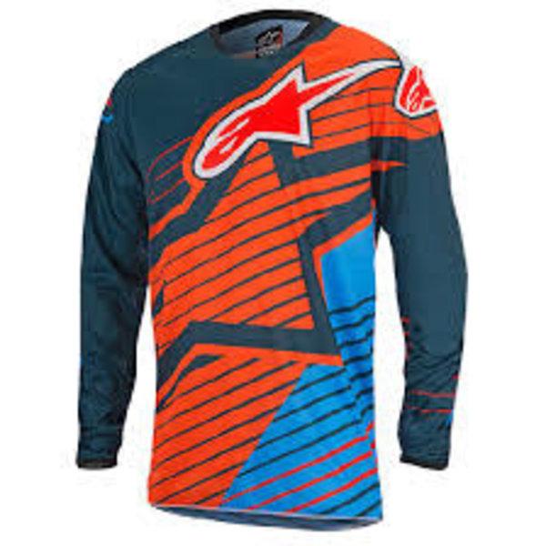 Alpinestars shirt S7 RAC/BRAP PE/OR maat L