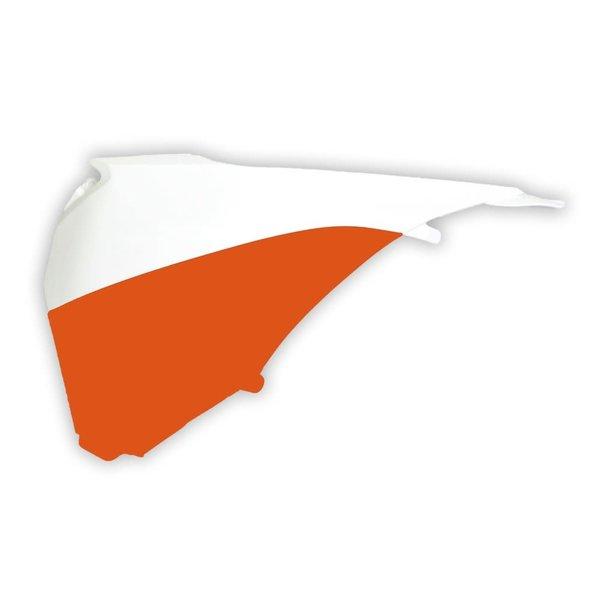 Rtech AIR BOX SIDE PANEL DX KTM ORANGE-WHITE (OE)