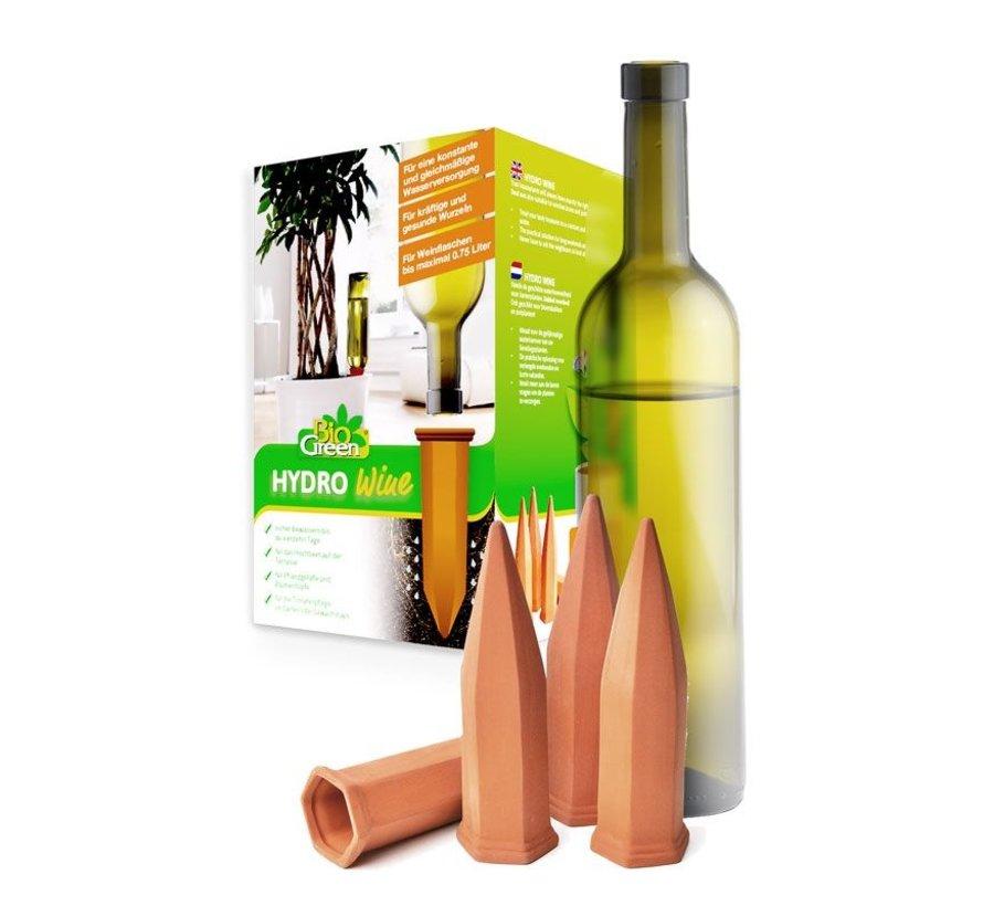 Druppelaar terracotta - Wijnfles