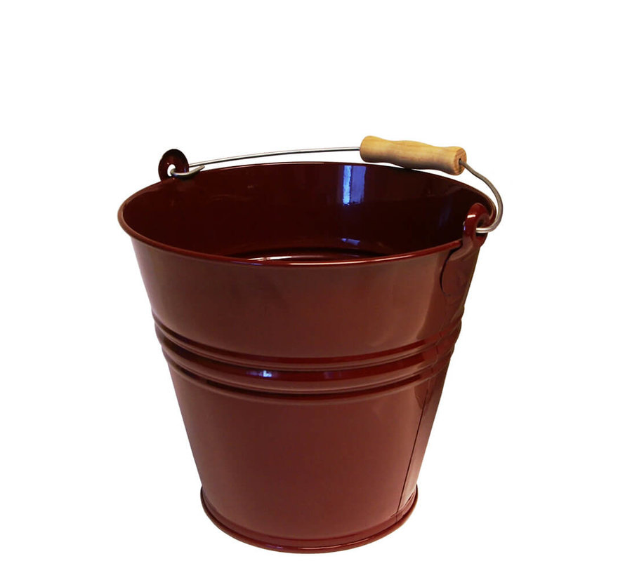 Emmer 12 liter - Wijnrood