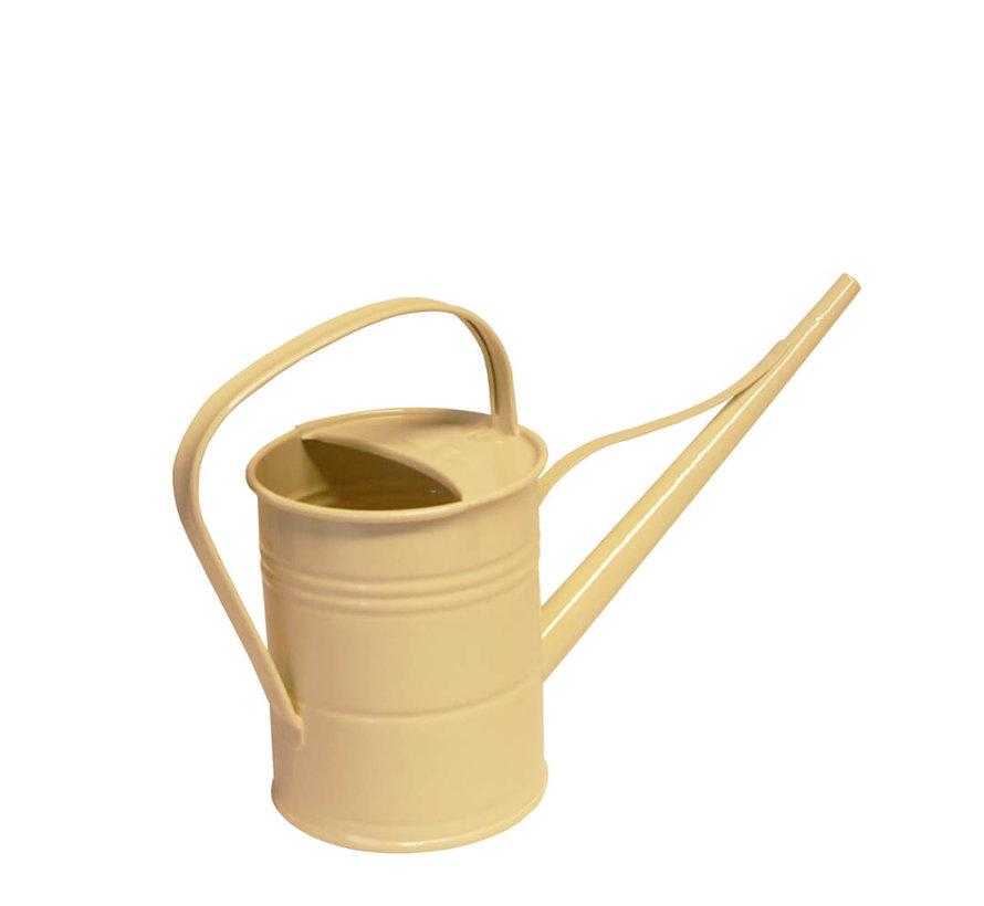 Gieter 1,5 liter - Zink - Ivoor