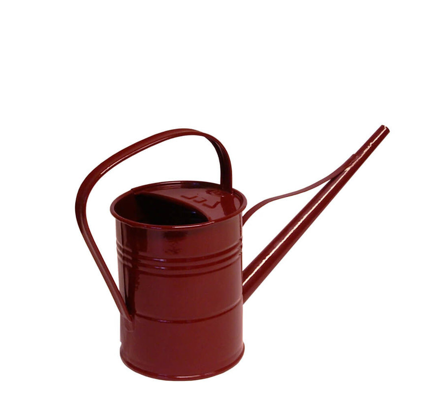Gieter 1,5 liter - Zink - Wijnrood