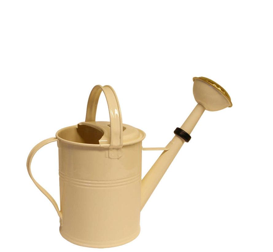 Gieter 5 liter - Zink - Ivoor