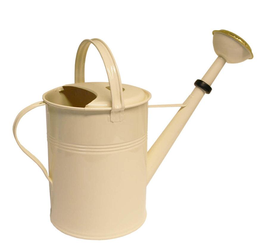 Gieter 9 liter - Zink - Ivoor