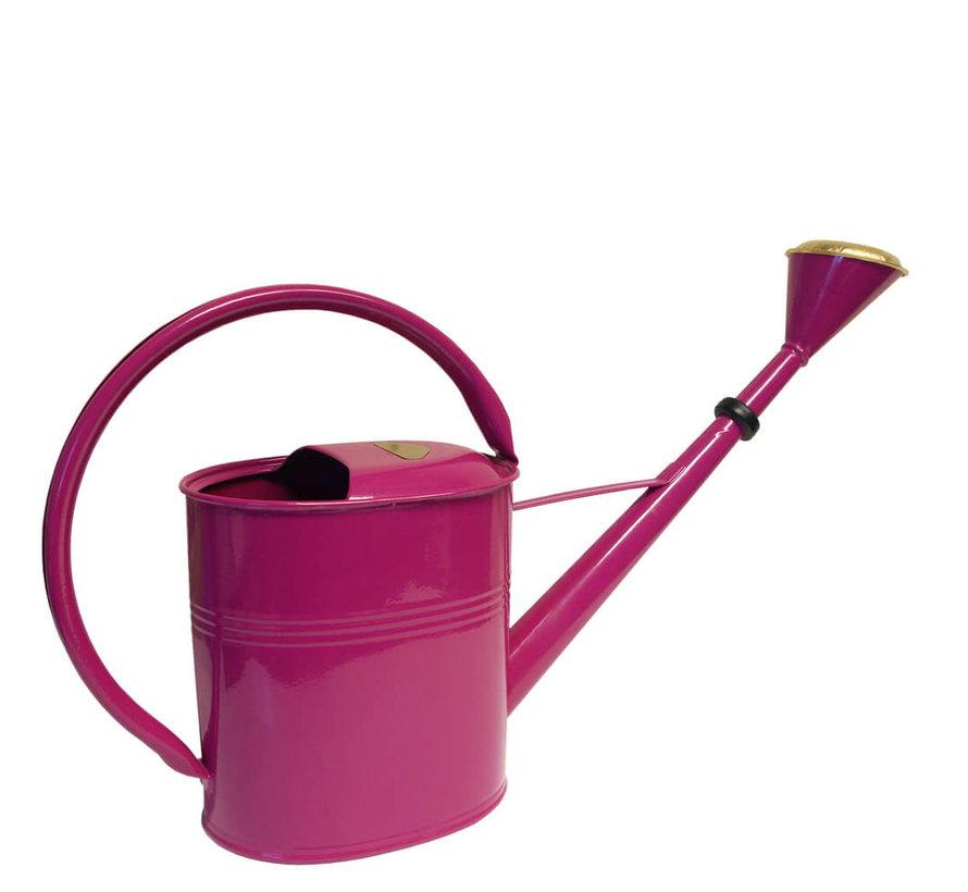Gieter ovaal 8 liter - Zink - Fuchsia