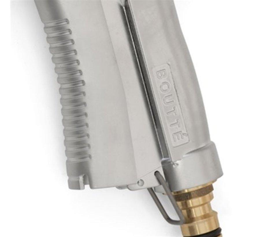 Spuitpistool met broes - RVS