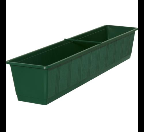 Geli Balkonbak 80cm donker groen