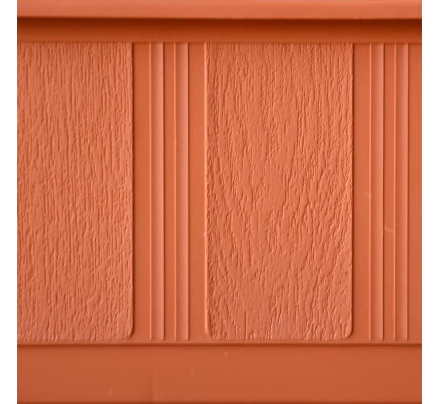 Balkonbak 100cm terracotta