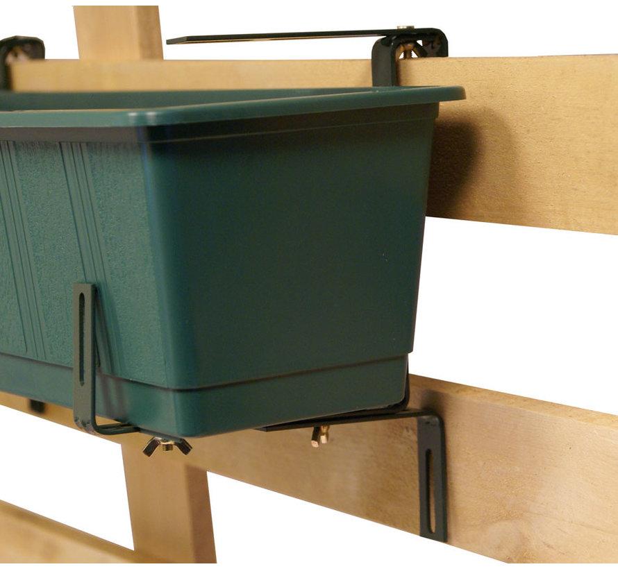 Balkonhaak Type C donker groen