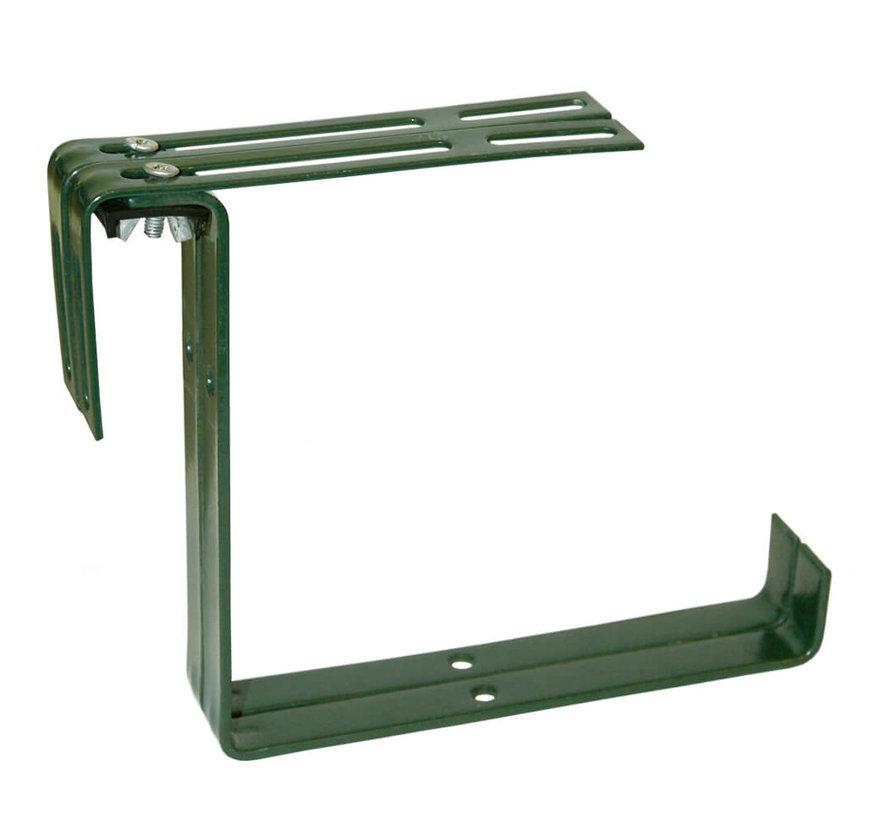 Balkonhaak Type B donker groen