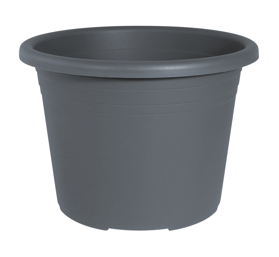 Bloempot CYLINDRO ø 50cm - Antraciet