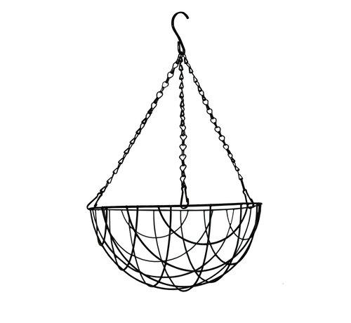 Meuwissen Agro Hanging Basket - Zwart gecoat - 25 tot 40 cm