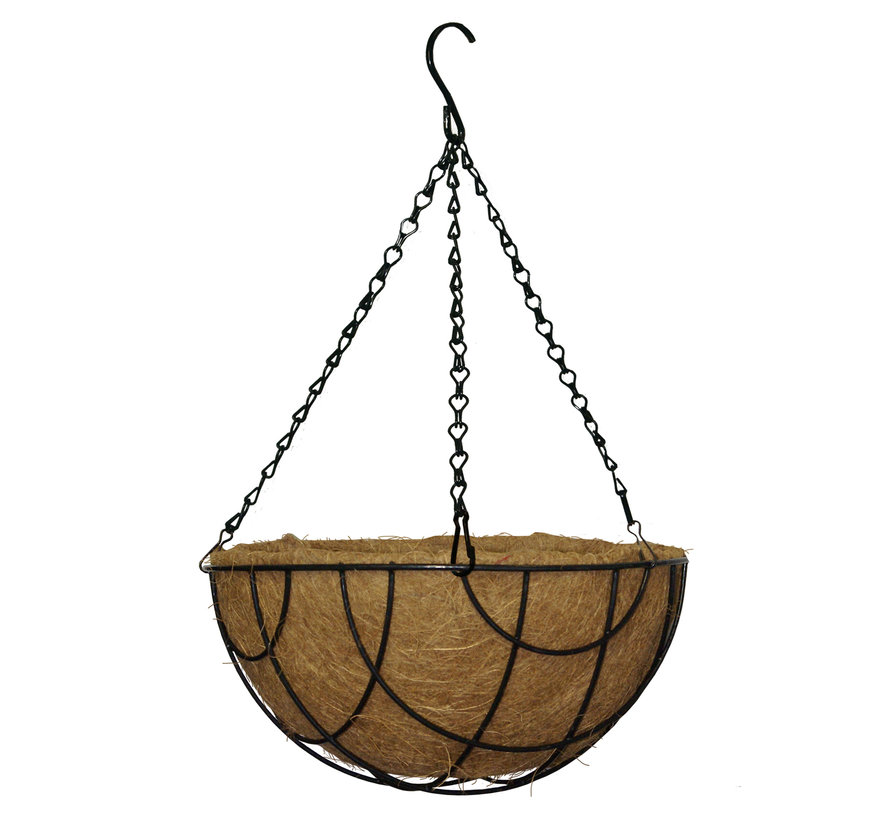 Inlegvel Kokos - ø 30 cm t.b.v. Hanging Basket