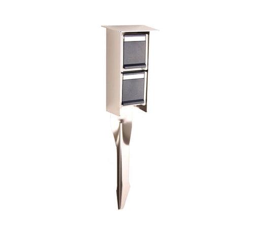 Franssen Verlichting Prik stopcontact - RVS