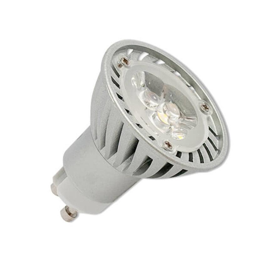 Ledlamp - GU-10 - 7w - 3000K - Dimbaar