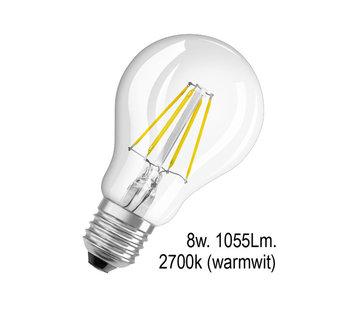 Franssen Verlichting Ledlamp - E27 - 8w - 2700k - Filament - helder