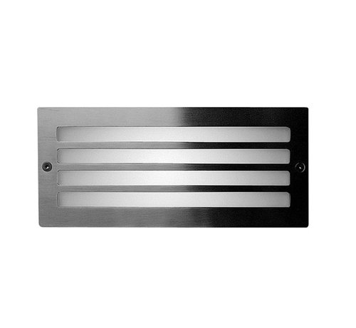Franssen Verlichting Wandlamp - Spotpro - Inbouw - Rooster - RVS