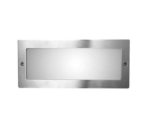 Franssen Verlichting Wandlamp - Spotpro - Inbouw - RVS