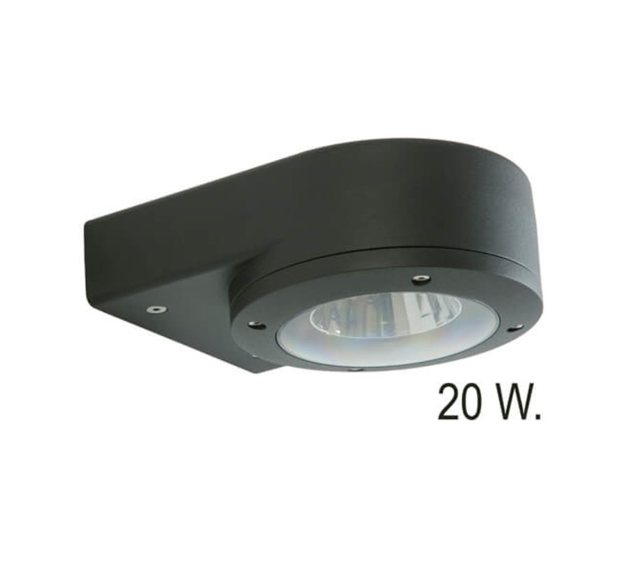 Gevelspot pro - Wandarmatuur - Downlight - Led 20w
