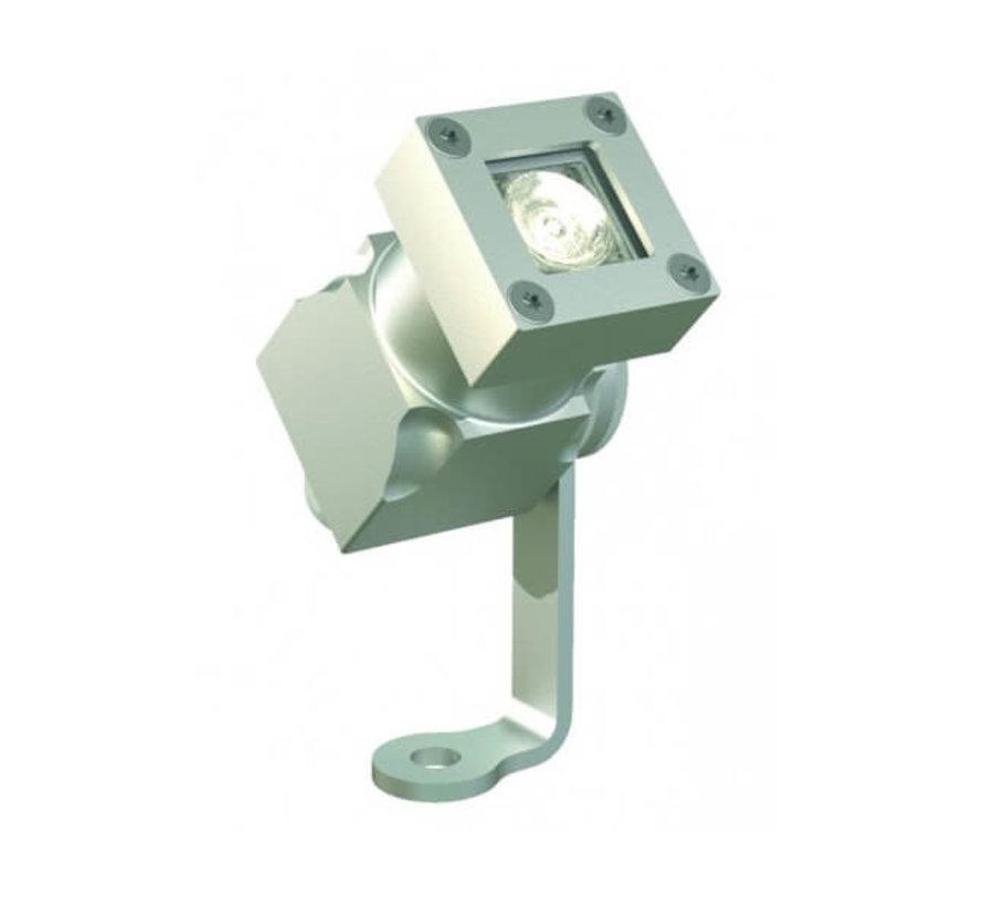 Aanlichtspot led 5w - Spotpro - Aluminium - Zilver