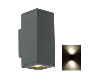 Franssen Verlichting Wandlamp - Spotpro - Up/Down light - Grafiet