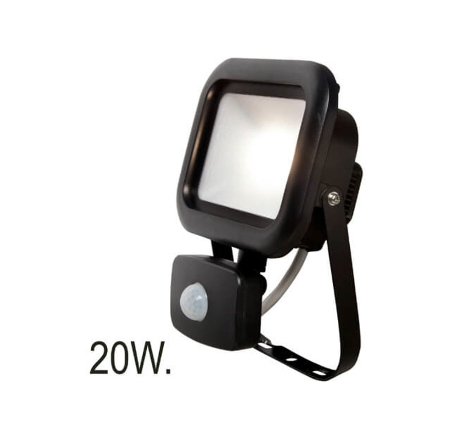 Floodlight met bewegingssensor - 20W