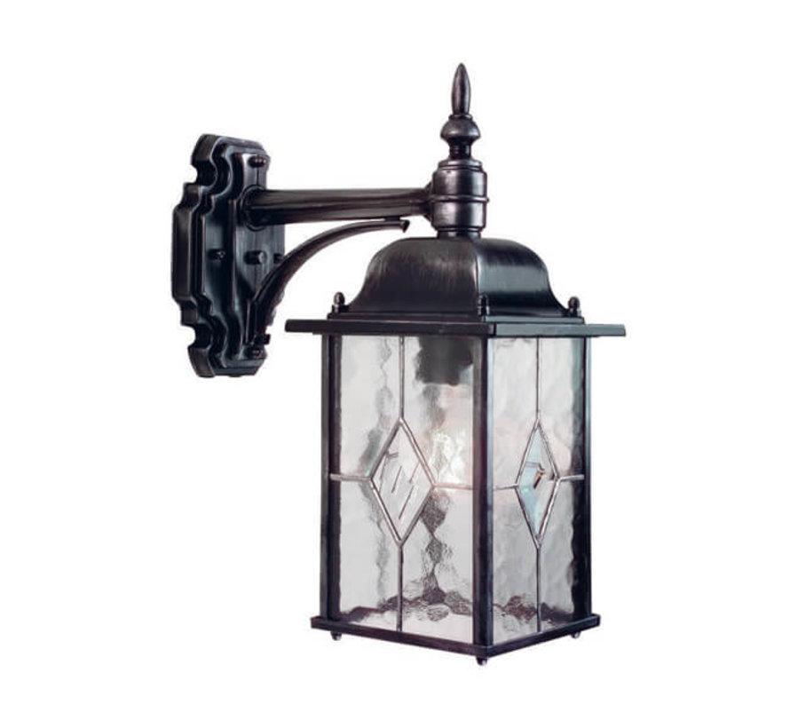 Wandlamp - Wexford - Hangend - Zwart/Zilver