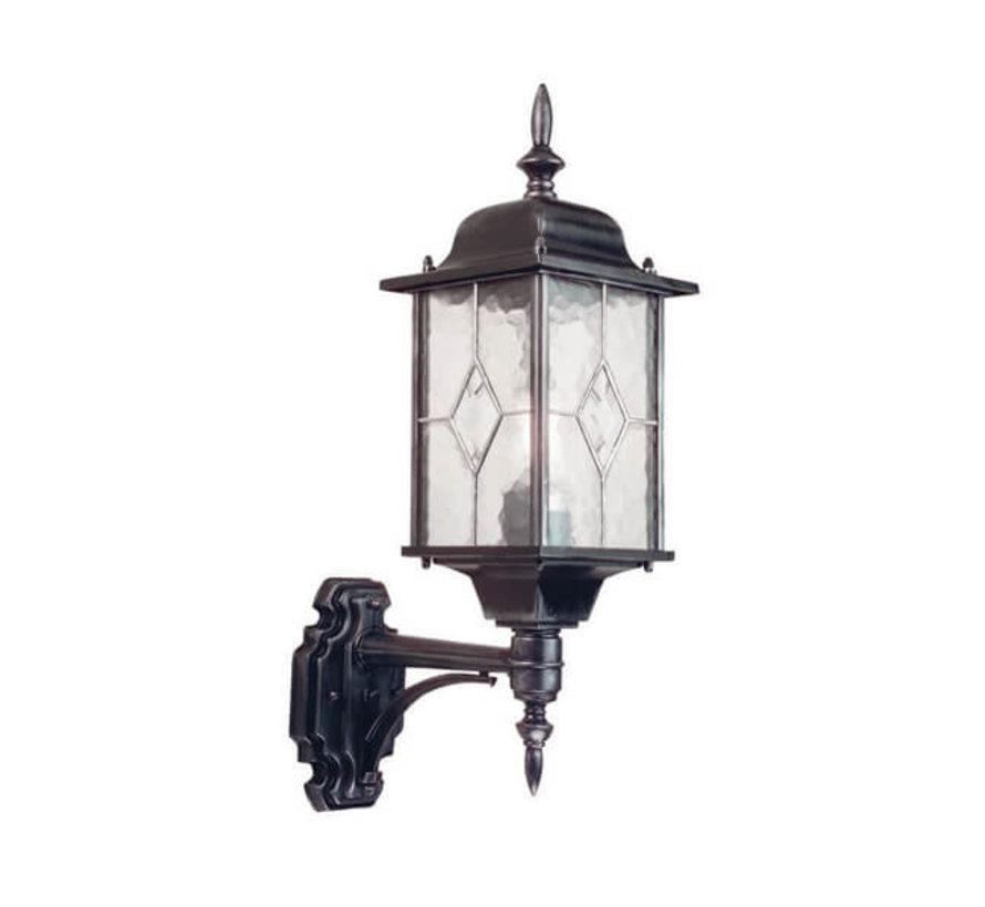 Wandlamp - Wexford - Staand - Zwart/Zilver