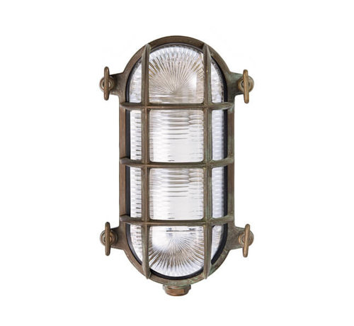 Franssen Verlichting Wandlamp - Maritiem - Verkoperd messing