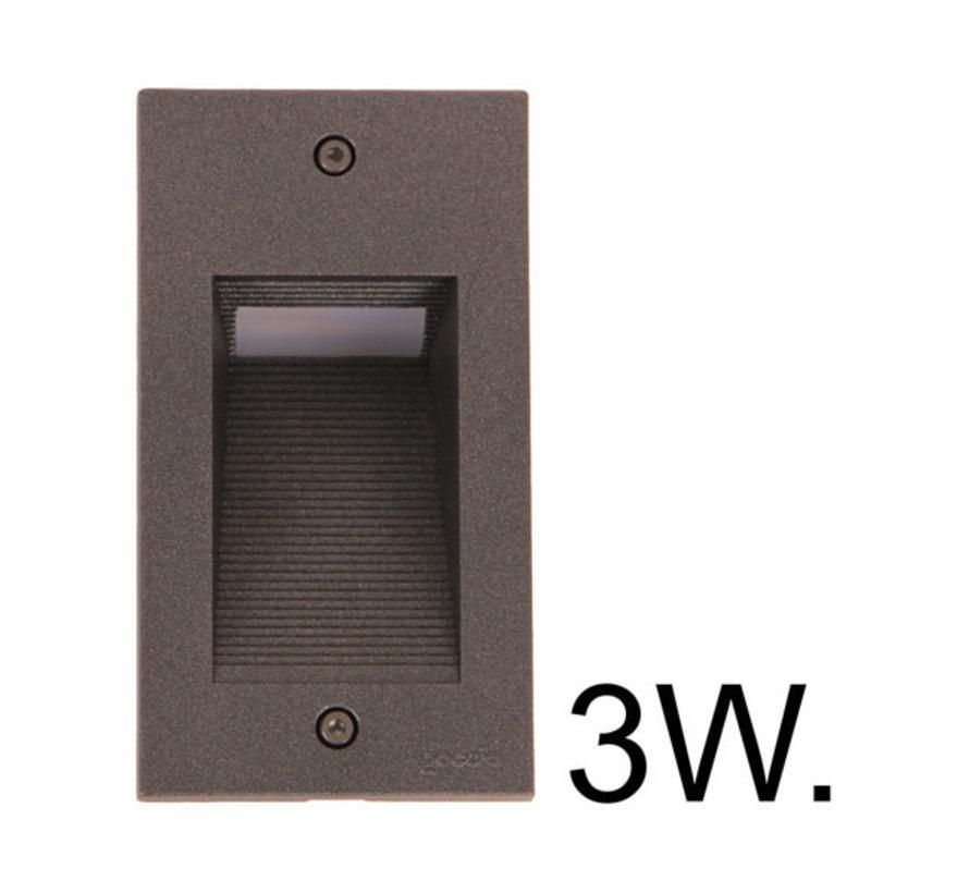 Wandlamp - Spotpro - Inbouw - Verticaal