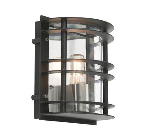 Franssen Verlichting Wandlamp - Selva - Zwart - Modern