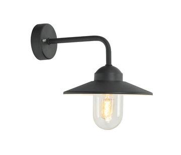 Franssen Verlichting Wandlamp - Selva - Boog recht - Zwart