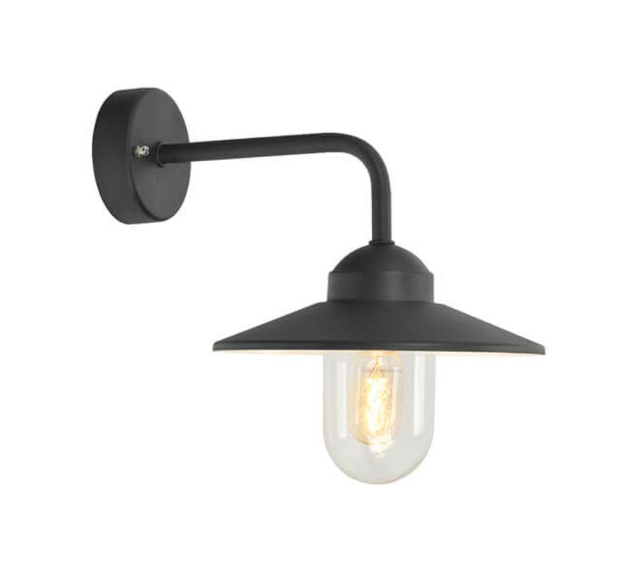 Wandlamp - Selva - Boog recht - Zwart