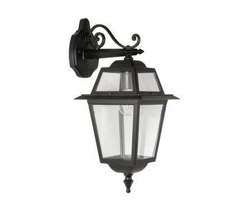 Franssen Verlichting Wandlamp - Perla - Hangend - Zwart