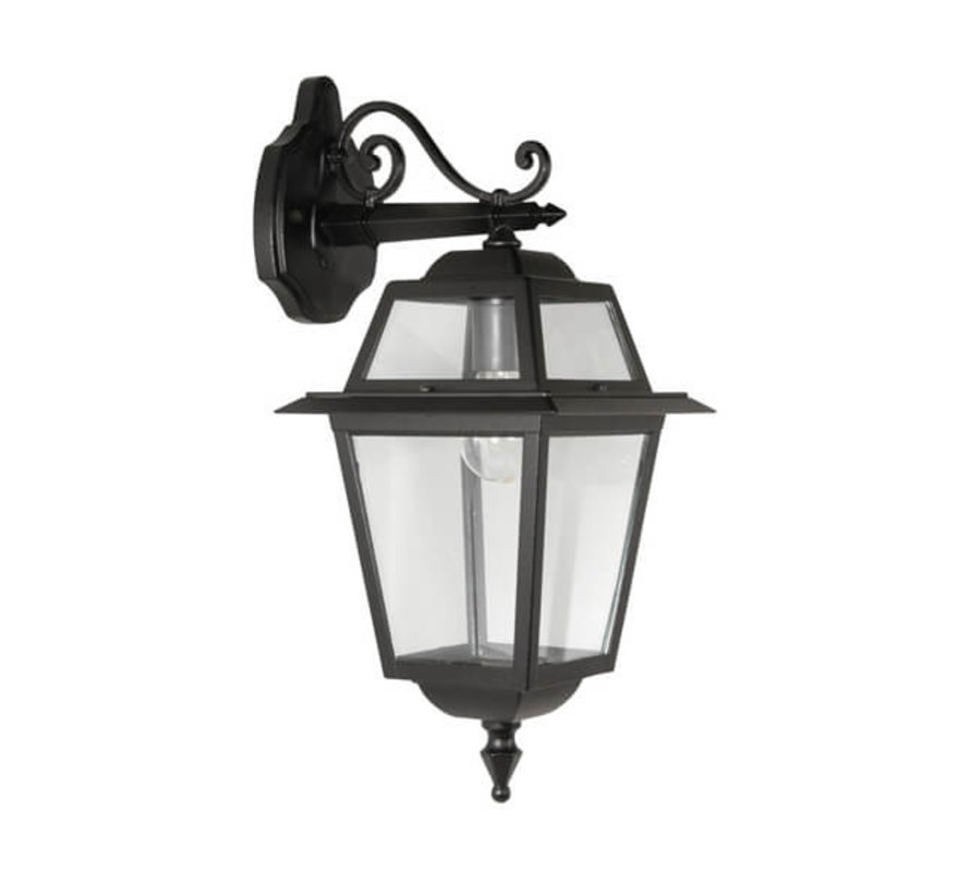 Wandlamp - Perla - Hangend - Zwart
