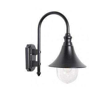 Franssen Verlichting Wandlamp - Calice 2 - Hangend - Zwart